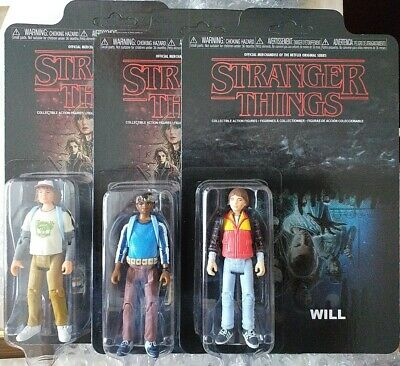 AU36.88 • Buy Stranger Things Lucas, Dustin And Will 3.75 Figures Funko On Card  Unpunched.