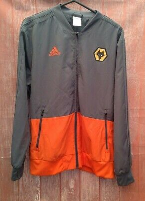 $ CDN34.36 • Buy Wolves Adidas Walk Out Jacket Size Large