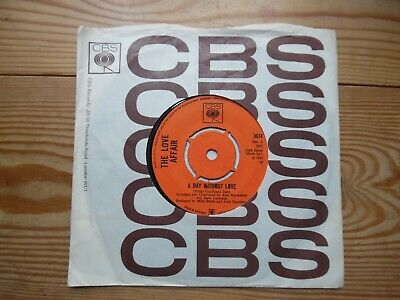 £5 • Buy A Day Without Love - The Love Affair - 1968