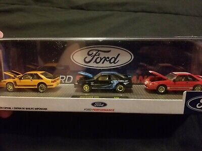 $109.99 • Buy M2 Ford Performance 3 Mustang Set 1988/1987 Chase 750