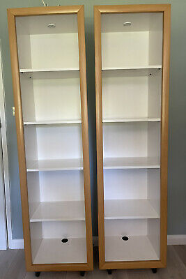 £9.99 • Buy Ligne Roset Pair Tall Shelving Storage Shelving Units Bookcases Good Condition