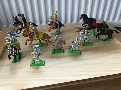£2 • Buy Britains Deetail Knights. Silver Knights. Knights On Horses. Soldier On Horse.