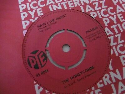 £2.80 • Buy Pye---have I The Right / Please Dont Pretend Again....the Honeycombs