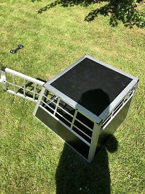 £35 • Buy Dog Car Crate, Sloping Front Aspect. Useful For Car Travel.