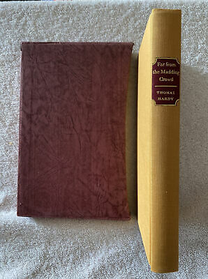 £12.99 • Buy Thomas Hardy- Far From The Madding Crowd- 1985 Folio Society Exc With Slipcase