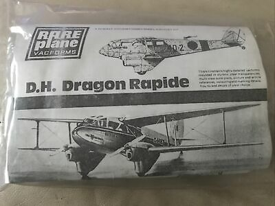 £9.99 • Buy Rare Plane Vacform Aircraft Model Kit - D H Dragon Rapide - 1/72 WELL DETAILED
