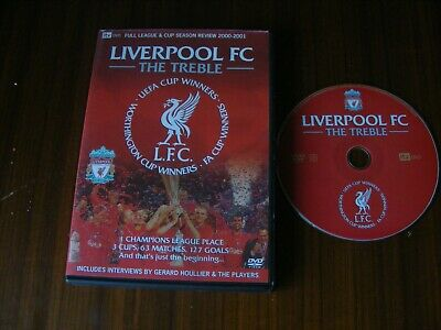 £6.99 • Buy Liverpool Fc The Treble Dvd Itv Season Review 2000 2001 Excellent Condition