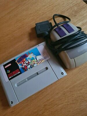 £10.30 • Buy Mario Paint With Mouse SNES Super Nintendo Rare Pal Uk Game And Mouse Tested Vgc