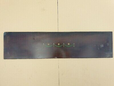 £19.99 • Buy Antique Victorian Fireplace Mantelpiece Decorated Painted Slate Insert Panel