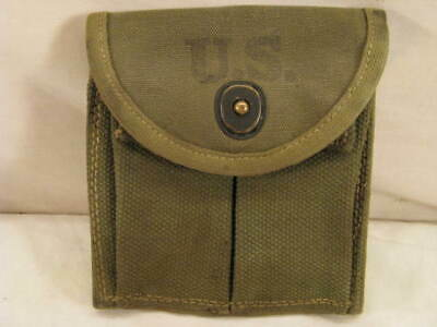 $24.99 • Buy Wwii  Us M-1 Carbine Butt Stock Ammo Mag Pouch Transitional 1943 Original M-1936