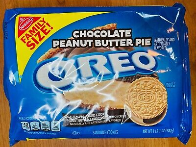 £10.91 • Buy Htf Oreo Cookies, Chocolate Peanut Butter Pie, Limited Edition, Brand New/factor