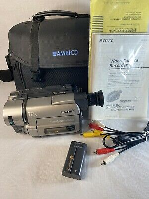 $ CDN235.31 • Buy Sony CCD-TRV85 Stereo HI8 8mm Video8 Camera Camcorder VCR Player Tested