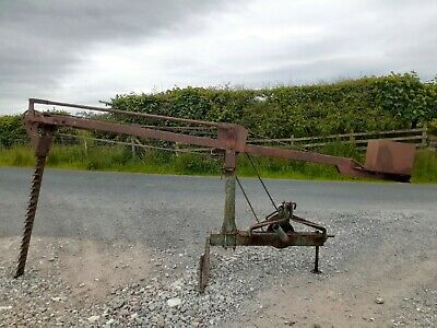 £550 • Buy Fuller Vintage Hedge Cutter Trimmer Classic Tractor Mounted Compact Tractor
