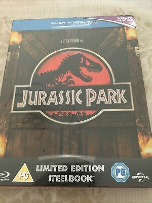 £17.90 • Buy Jurassic Park 3 Steelbook Blu-ray - NEW AND SEALED - FREE POSTAGE -
