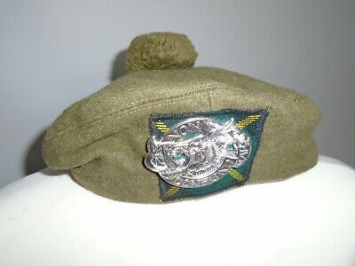 £35 • Buy Aberdeen Universities Officers Training Corps Tam O Shanter With Badge