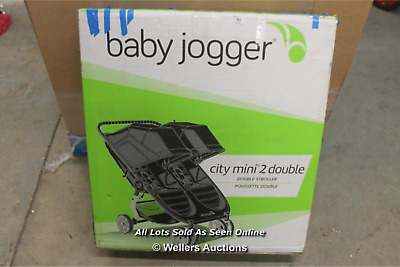 £369.99 • Buy Baby Jogger City Mini 2 Double Pushchair Lightweight, Foldable & Compact Double