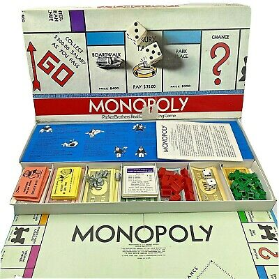 £17.86 • Buy Vtg 1975 Monopoly Board Game Parker Brothers Classic - Complete