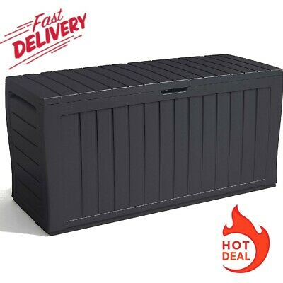£48.99 • Buy Keter Xl Large Storage Shed Garden Outside Box Bin Tool Store Lockable