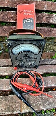 £30 • Buy Vintage Avo Meter Model 8 Mk4, Leads And Instructions For A Mk 5- Untested