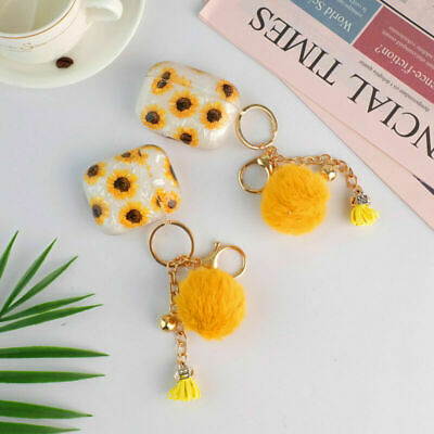 AU11.99 • Buy For Apple AirPods Pro 1&2 Cute Sunflower Shell Patterned Cover Case With Pendant