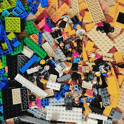 £8.95 • Buy 1kg Mixed Lego Pieces Plus Mini Figures - Free P&P Included