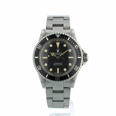 £14995 • Buy Rolex Submariner Non Date 5513 Vintage Black Dial Stainless Steel 1979