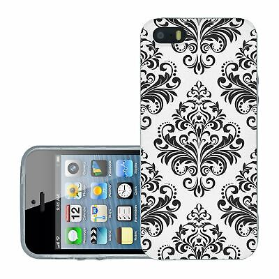 £6.95 • Buy For IPhone 5 5s Silicone Case Cover Gothic Pattern (S5012)