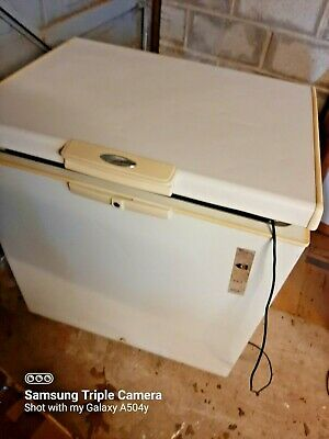 £60 • Buy Whirlpool Small Chest Freezer, 212 L  Afg 5227-C