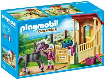 £18.67 • Buy Playmobil 6934 Country Horse Stable With Araber