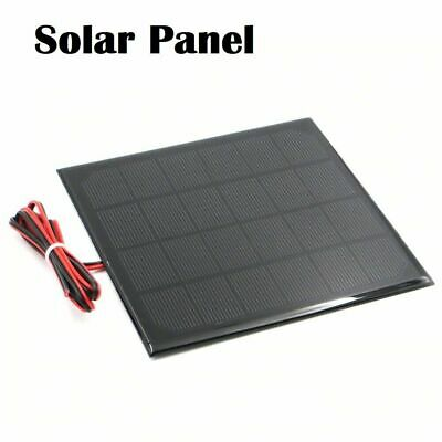 £3.55 • Buy 6V Solar Panel For Cell Phone Charger Battery With Wire Portable Mini Sun Energy