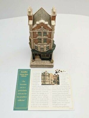 £25 • Buy Lilliput Lane JEWELLER The Victorian Shops Collection 1997 L2108  With Deeds