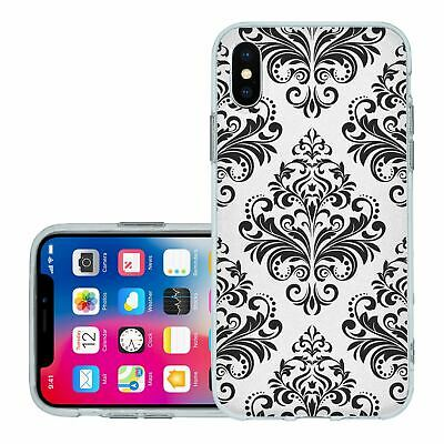 £6.95 • Buy For IPhone X Xs Silicone Case Cover Gothic Pattern (S5012)