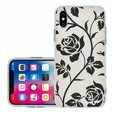 £6.95 • Buy For IPhone X Xs Silicone Case Cover Gothic Pattern (S5017)