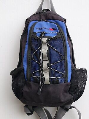 £5.99 • Buy TRESPASS 15 Litre Backpack/Rucksack With Chest/Hip Fastening Straps