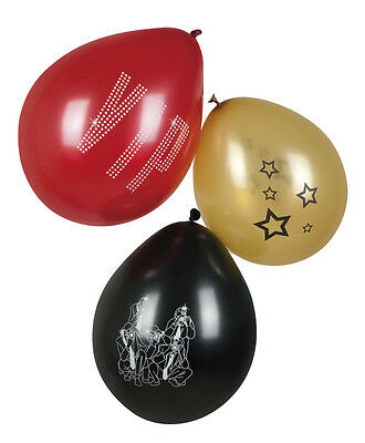 £2.25 • Buy Pack Of 6 Assorted VIP Latex Balloons - Party Prom Event Decoration New & Sealed