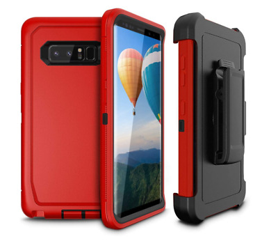 $ CDN21.39 • Buy For Galaxy S8 Plus Case Anti-Drop Luxury Cover Durable Protection Holster RED 🔥