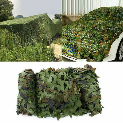 £11.99 • Buy Army Camouflage Net Camo Netting Camping Shooting Hunting Hide Woodland Sunshade