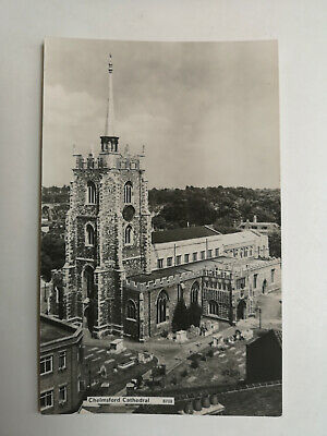 £3.40 • Buy Chelmsford Cathedral Real Photographic Unposted Vintage Postcard S79837