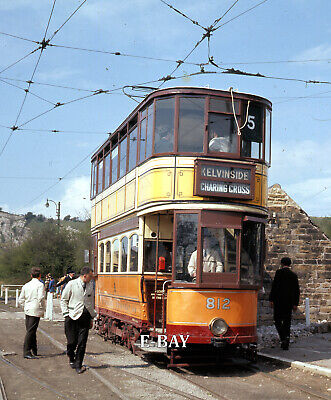 £2.99 • Buy Glasgow Tram No 812 - Early Days At Crich Townend On 28/4/68. 55mm Slide.