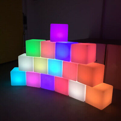 £22.99 • Buy LED Cube Rechargeable Light 16-Color And Remote Control For In&Outdoor