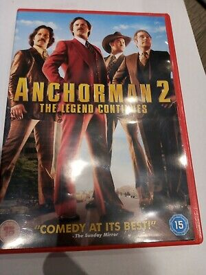 £1 • Buy Anchorman 2 The Legend Continues DVD