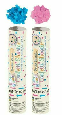 £9.95 • Buy Gender Reveal Confetti Shooter Cannon It's A Boy Or It's A Girl Baby Shower