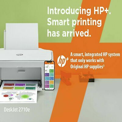 £39.99 • Buy HP DeskJet 2710e All-in-One Wireless Inkjet Printer With HP New With Inks