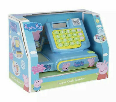 £22.75 • Buy Peppa Pig Cash Register Till Kids Role Play Shop Toy Birthday Gift Brand New