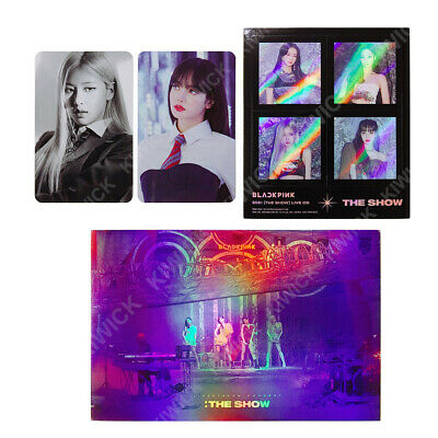$ CDN7.51 • Buy BLACKPINK 2021 The Show Live CD Official Photo Card Photocard Sticker + Tracking