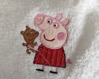 £5.99 • Buy Face Cloth With Peppa Pig And Teddy Emblem