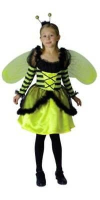 £14.95 • Buy Girl's Bumble Bee Fancy Dress Costume With Wings - Small Age 4 - 6 Years - New