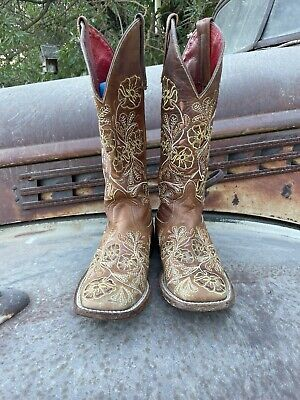 $135 • Buy Women's Macie Bean Boots Embroidered Western Size 6