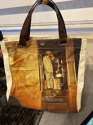 £55 • Buy Anya Hindmarch Canvas Tote Never Been Used