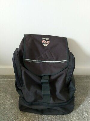 £10 • Buy Adidas Official Team GB Ruck Sack Navy - Olympics - Excellent Condition - Retro